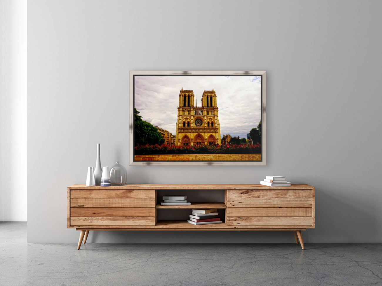 Jeanne d Arc and Saint Croix Cathedral at Orleans   France 1 of 7  Art