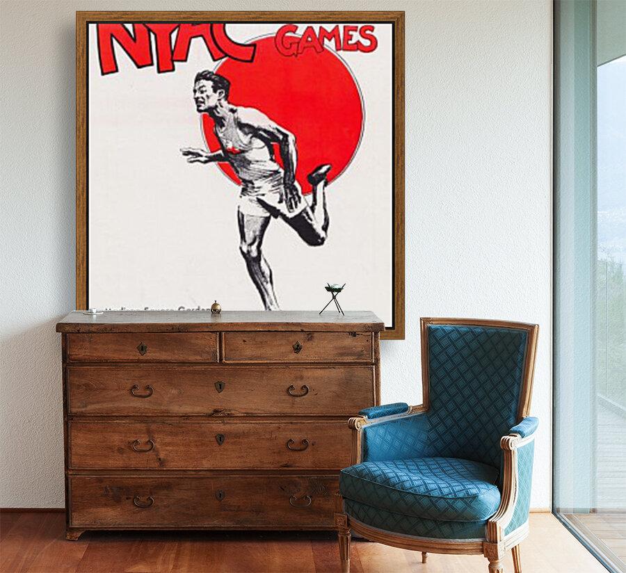 1941 New York Indoor Games  Art