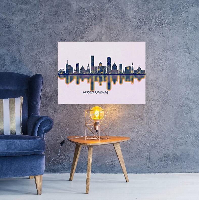 Yekaterinburg Skyline  Art