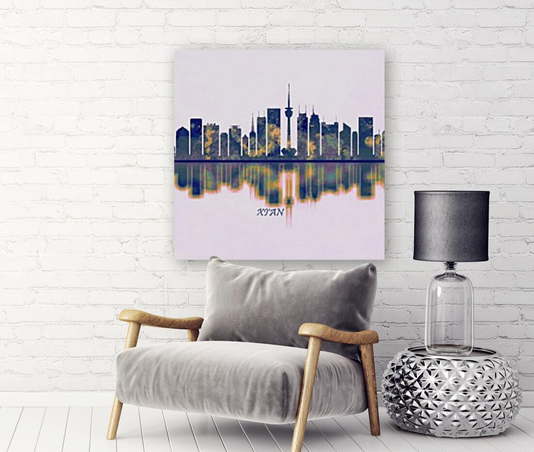 Xian Skyline  Art