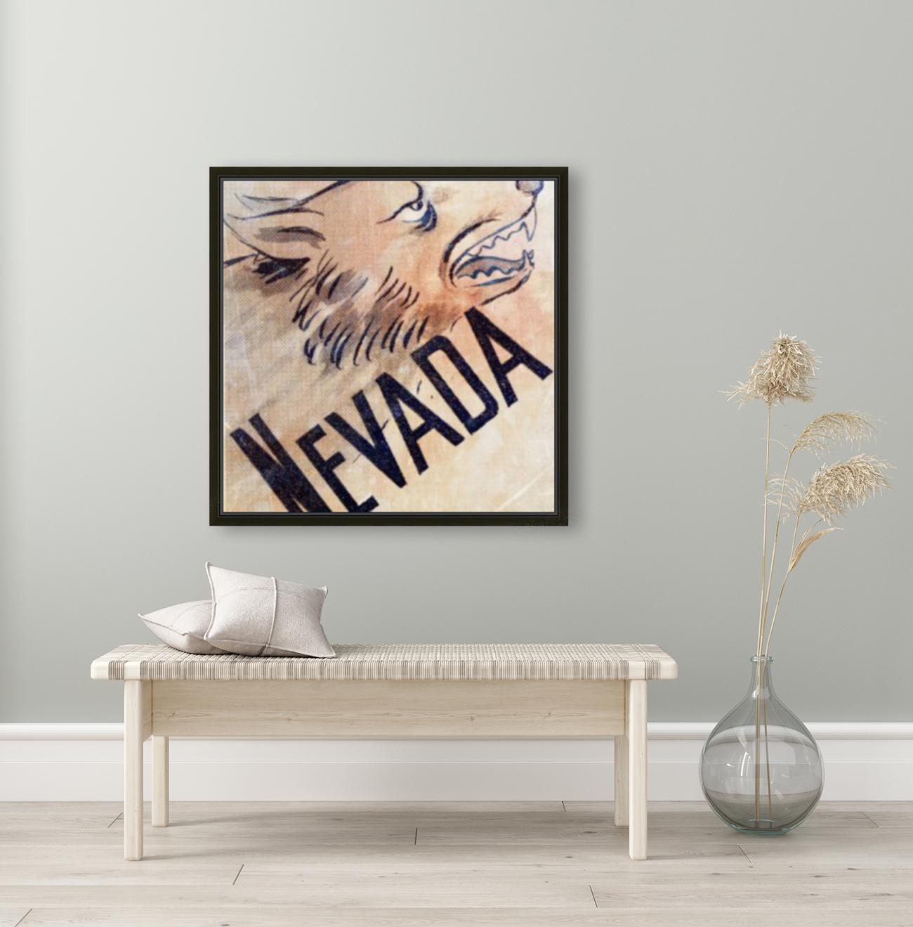 1946 Nevada Wolfpack Art  Art