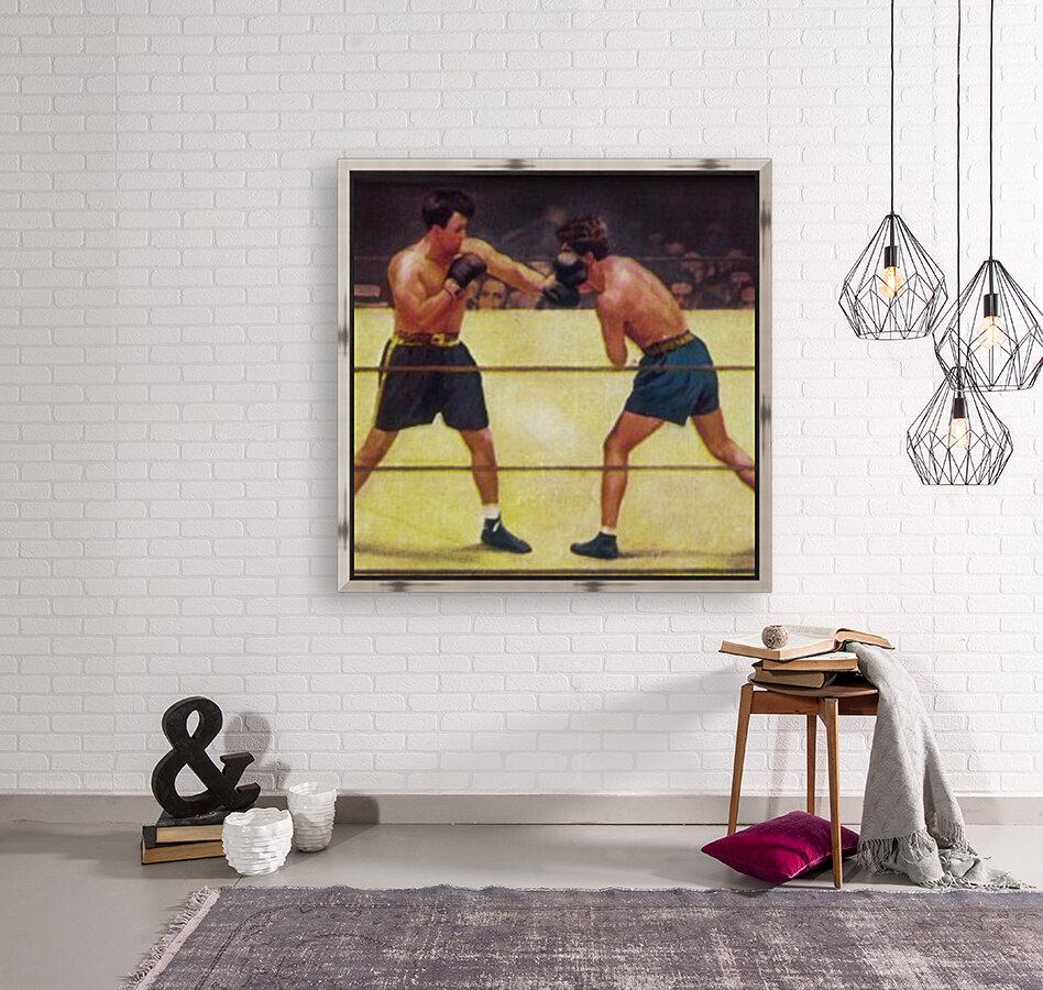 Vintage Boxing Art  Art