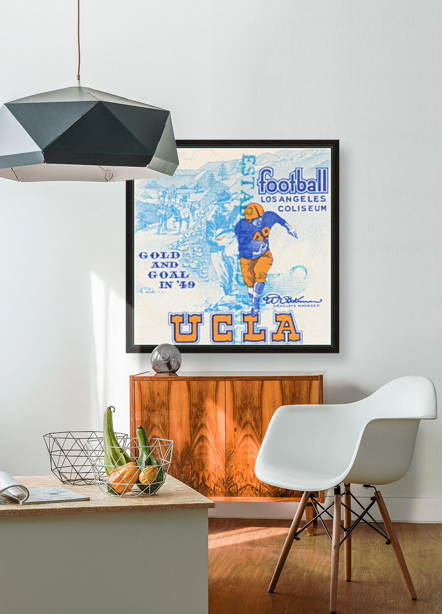 1948 UCLA vs. California with Floating Frame