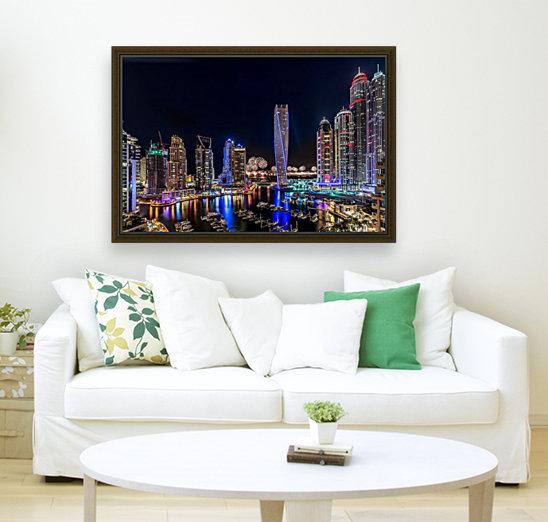 Happy New Year Dubai  Art