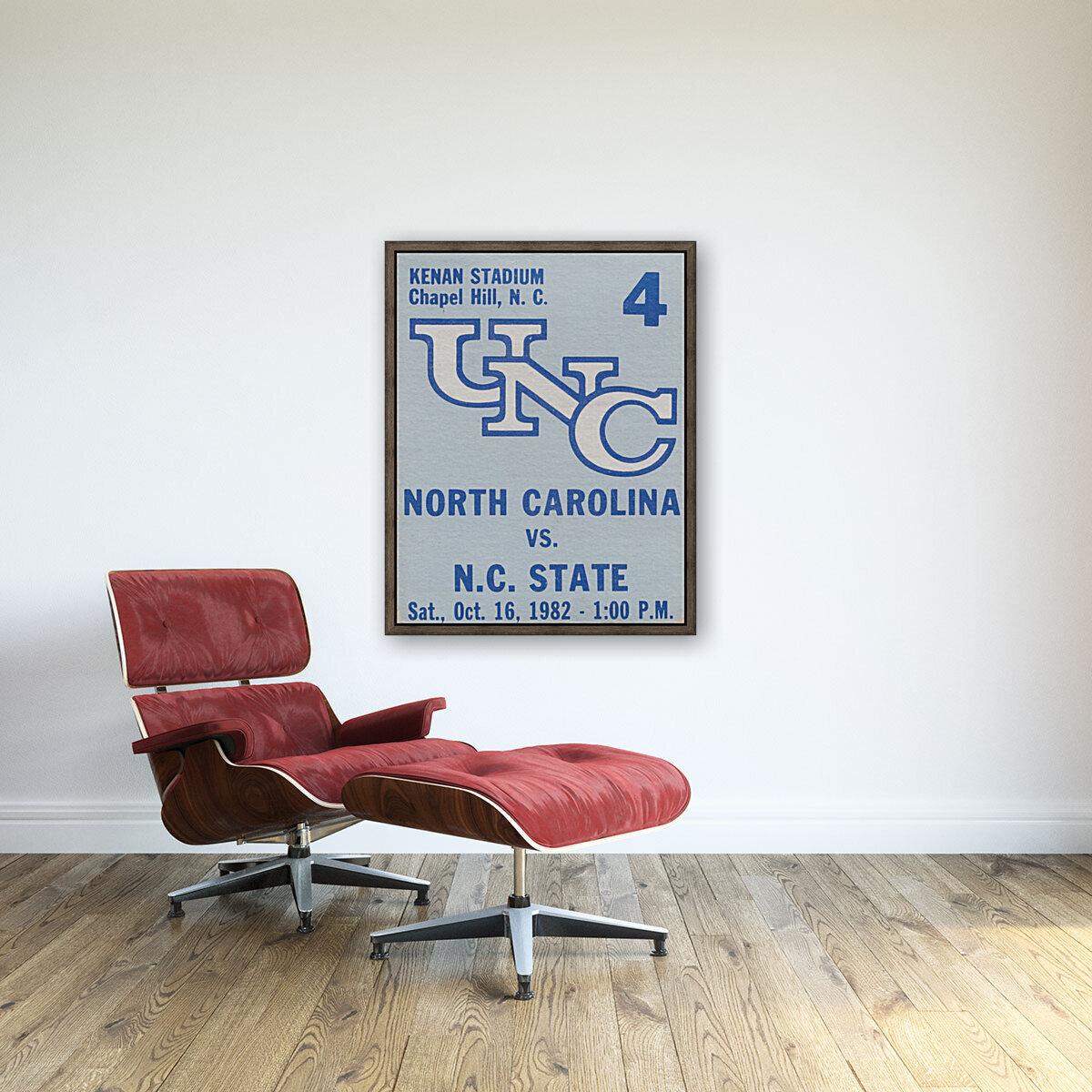 1982 North Carolina vs. NC State  Art
