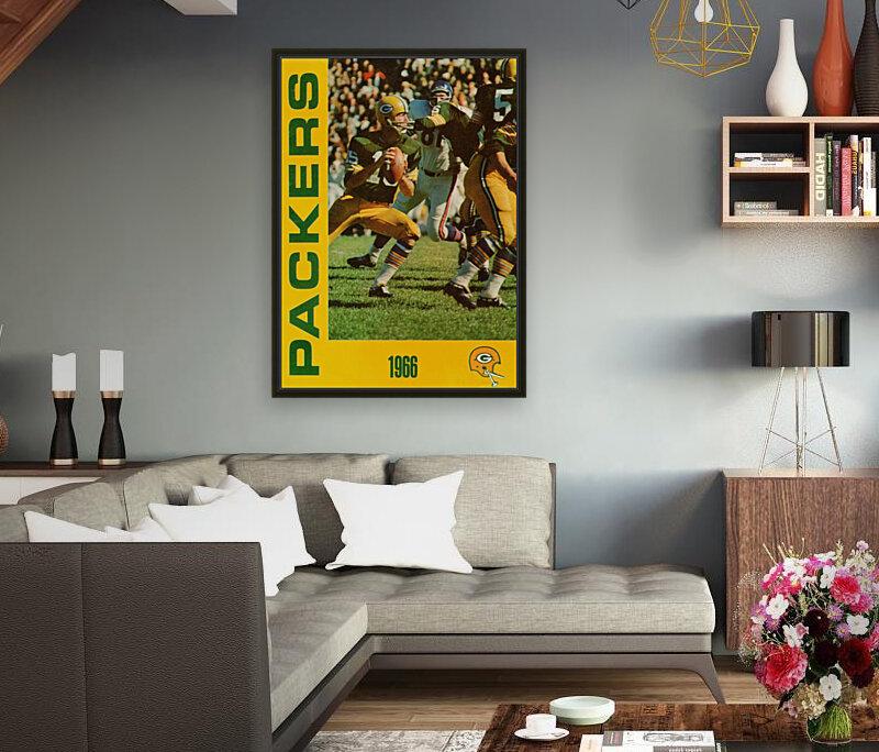 1966 Green Bay Packers Football Art  Art