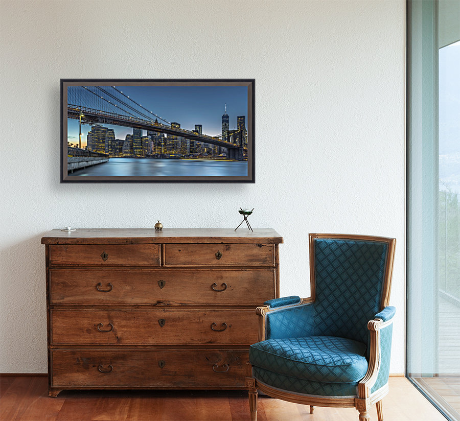 New York - Blue Hour over Manhattan  Art