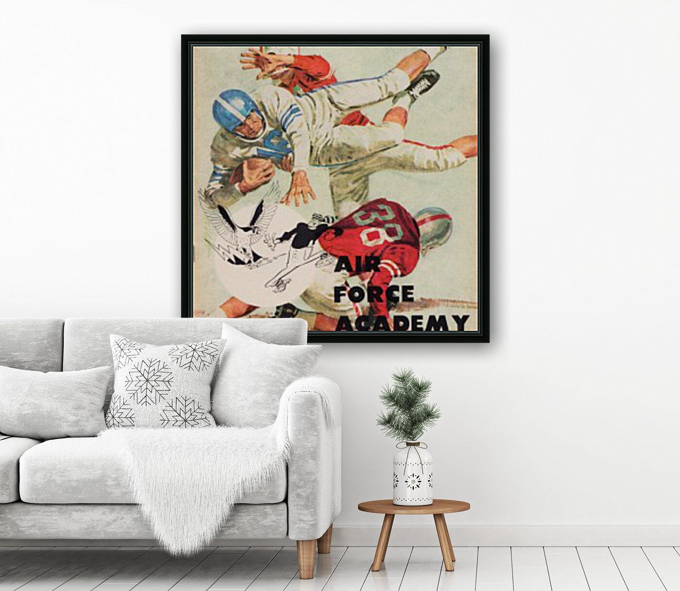 1961 Air Force vs. Denver  Art