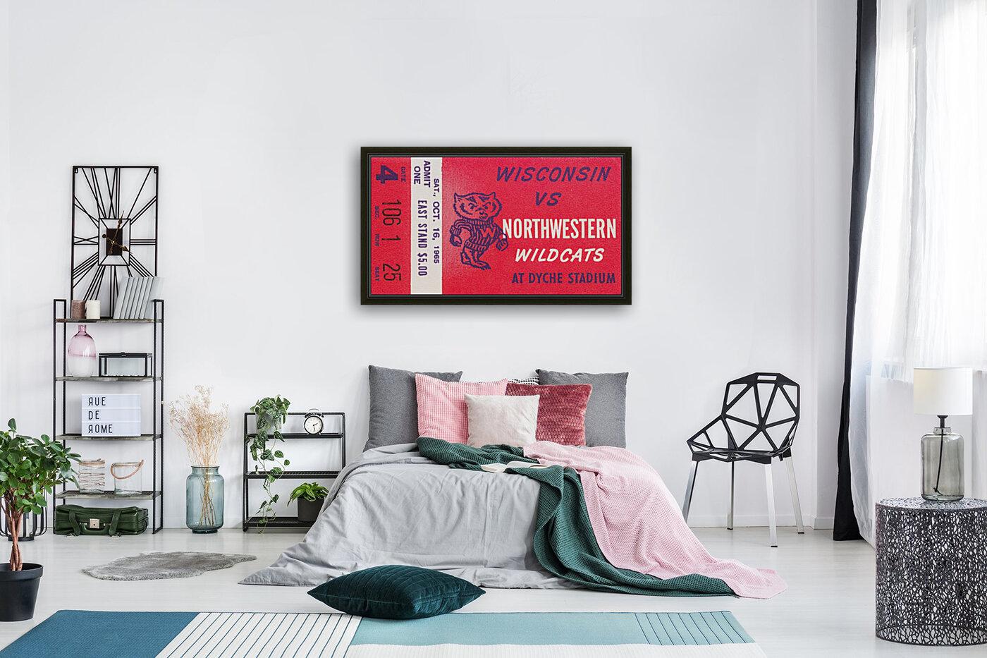 1965 Northwestern vs. Wisconsin  Art