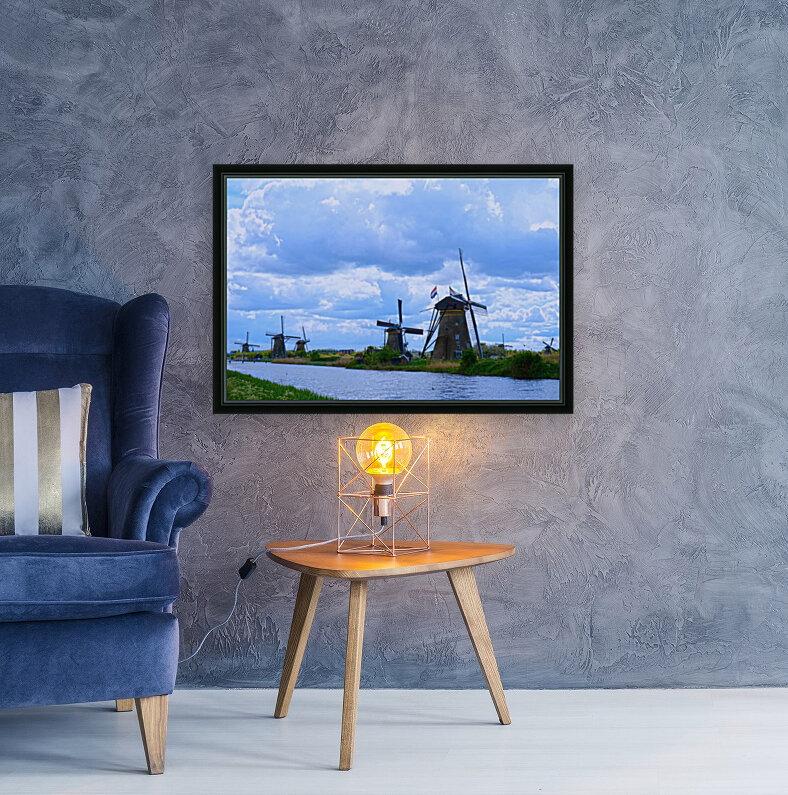 Windmills of the Netherlands 1 of 4  Art