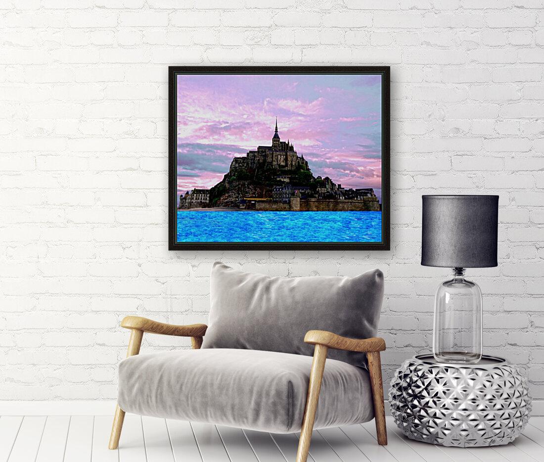 Mont St Michel at Sunset  Art