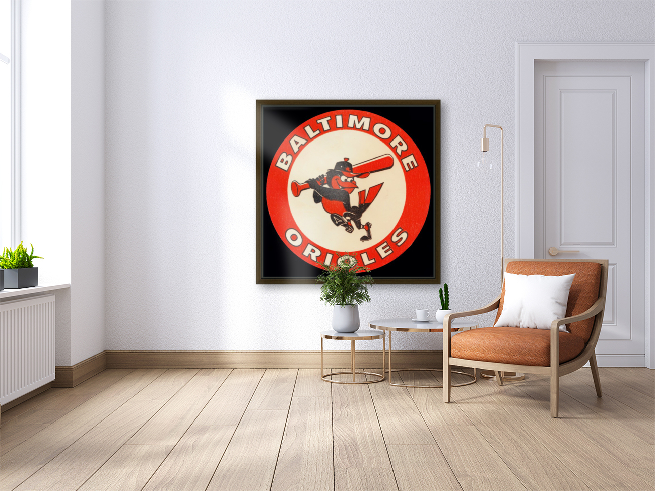 1960s Baltimore Orioles Art  Art