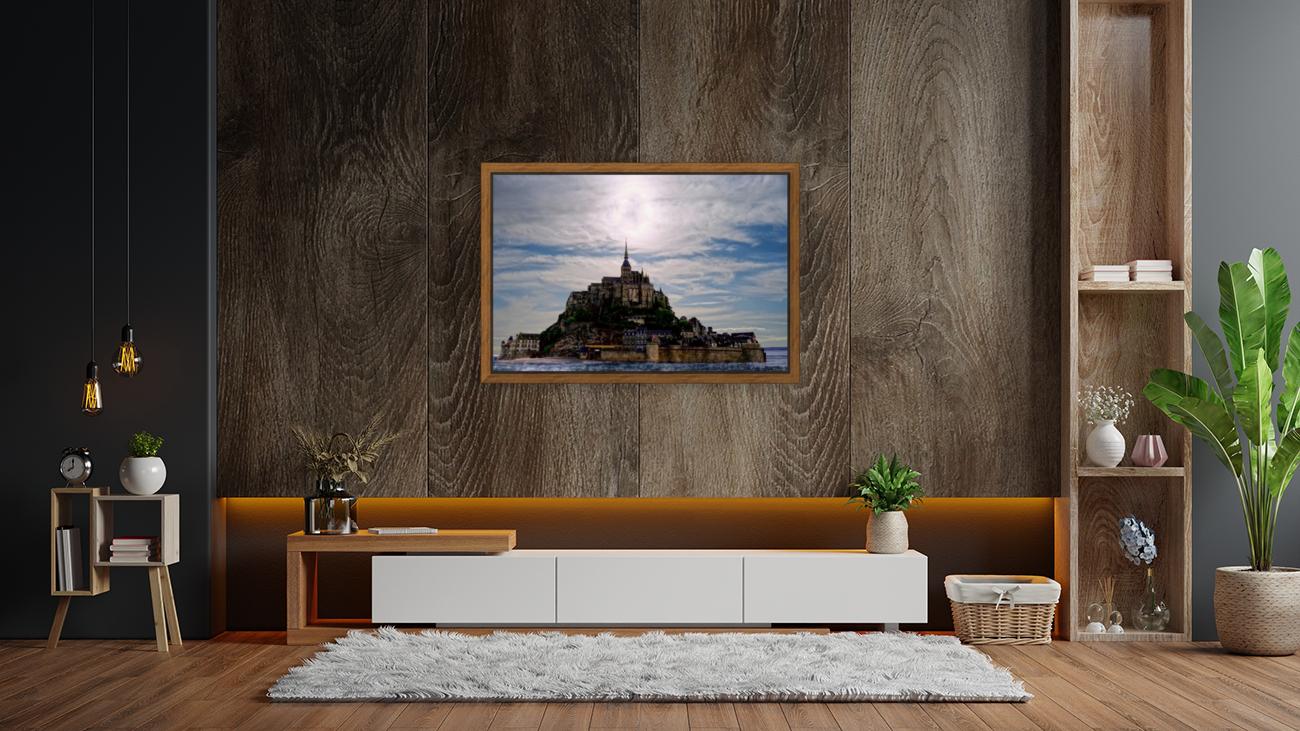 Mount Saint Michael The Fires of Heaven  Art