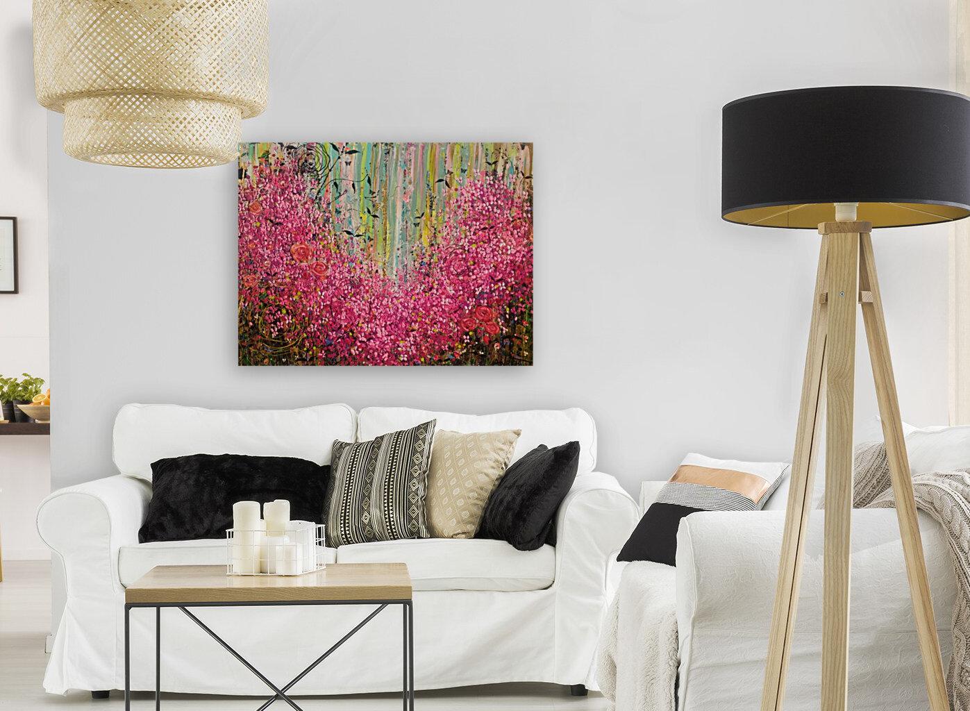 Floral Cascade   Art