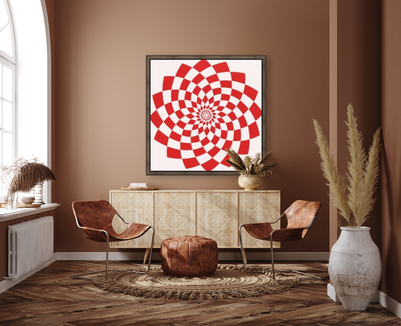Red flake   Art