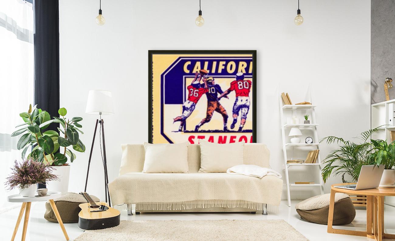 1964 California vs. Stanford  Art