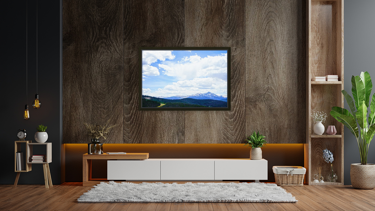 The Sawatch Range Colorado with Floating Frame