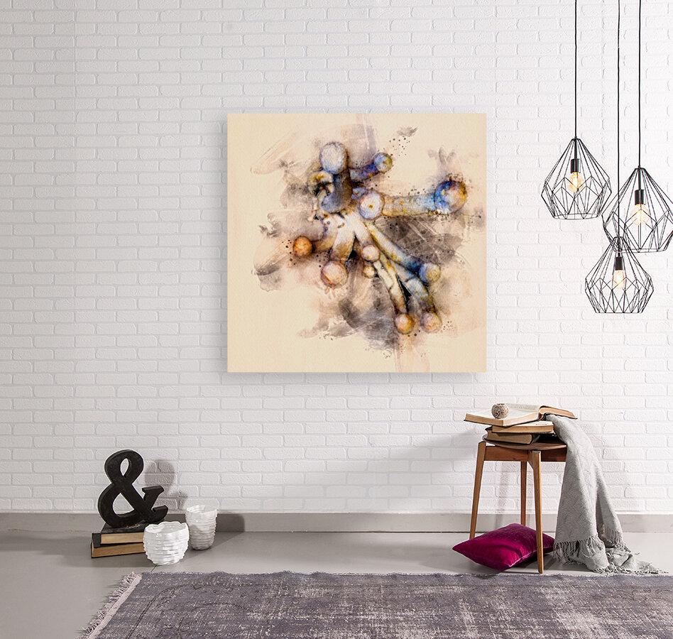 Tasty Mushroom Abstract  Art