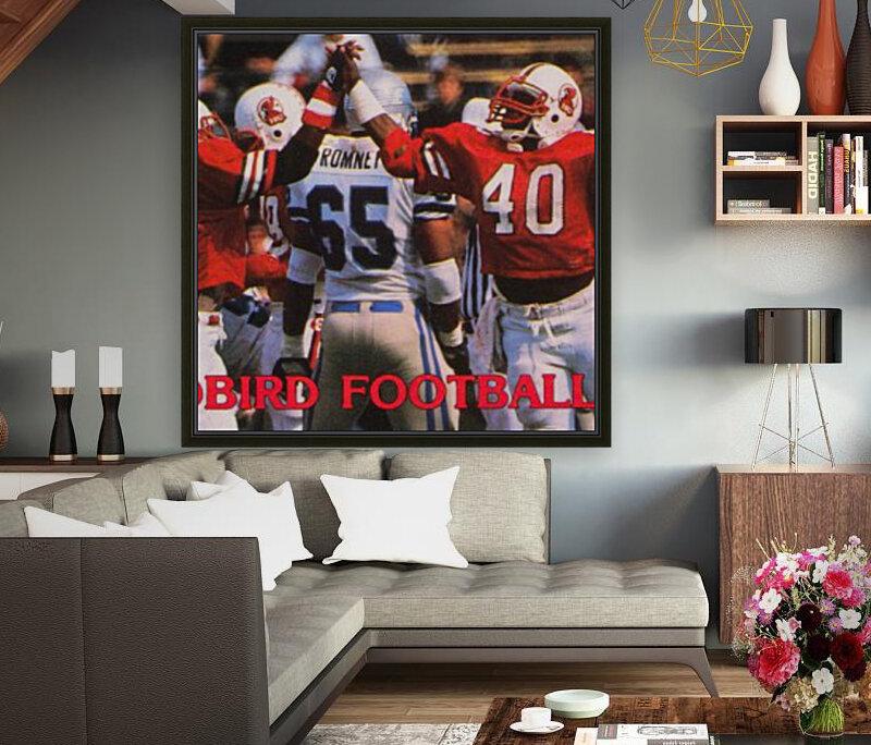1985 Illinois State Redbirds Football Poster  Art