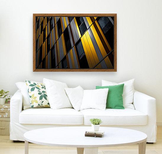 Yellow wall  Art