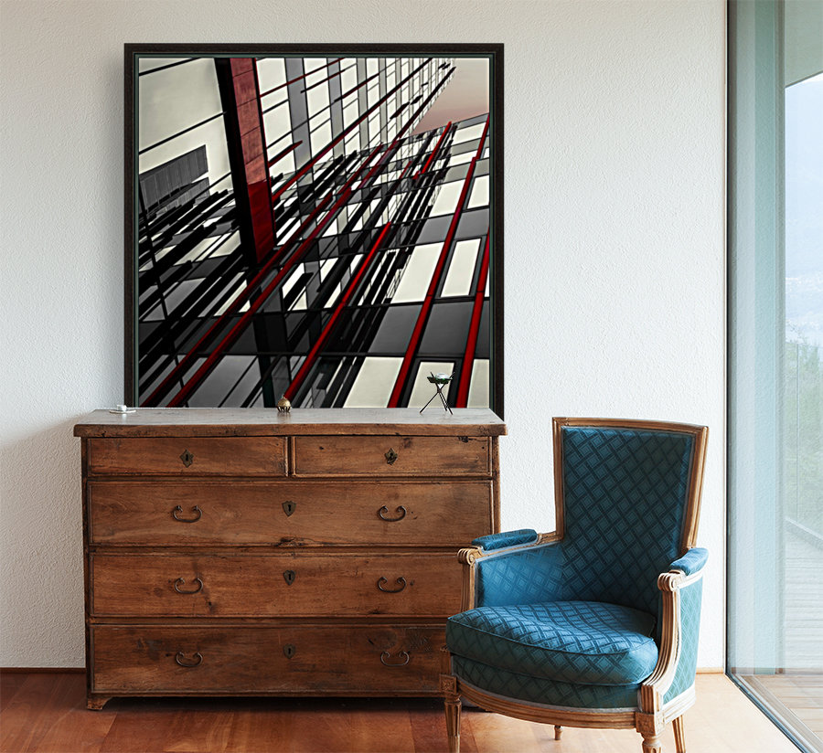 red lines by Gilbert Claes   Art