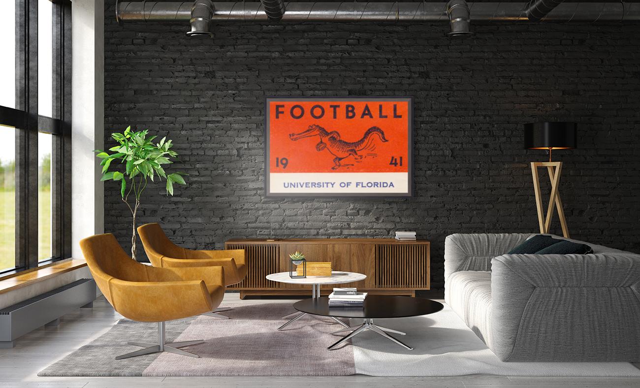 1941 Florida Gators Football  Art