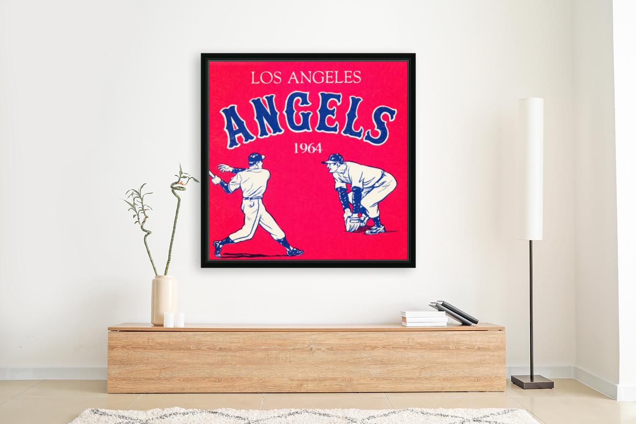 1964 Los Angeles Angels Baseball Art  Art