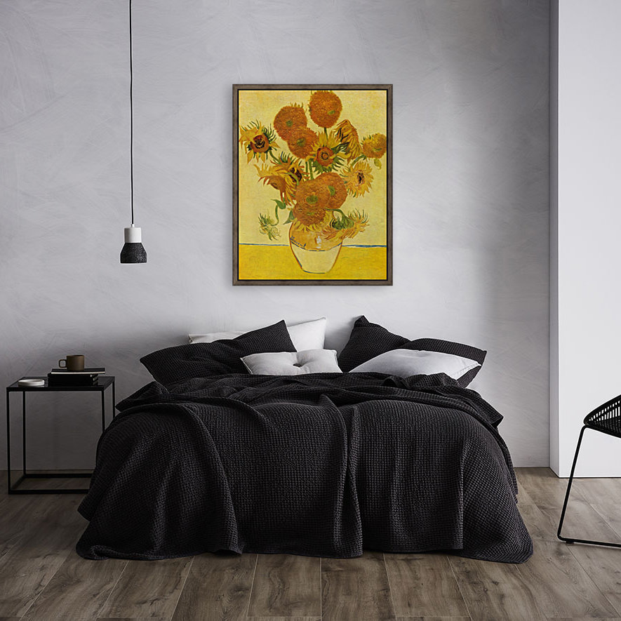 Still life with sunflowers by Van Gogh  Art