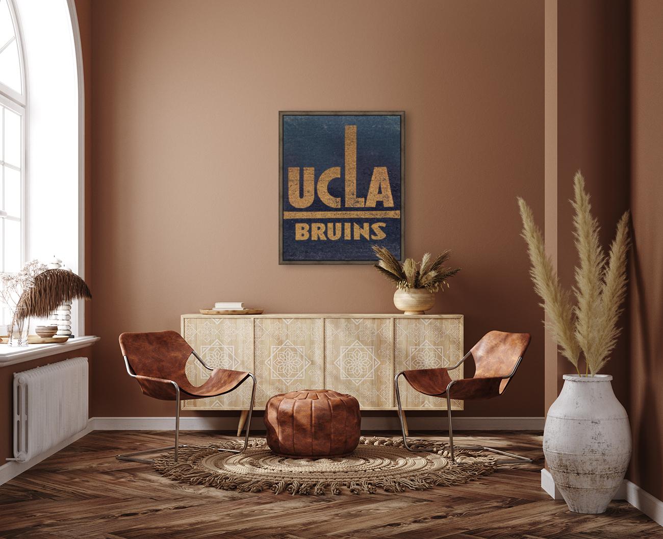 Vintage UCLA Bruins Art  Art