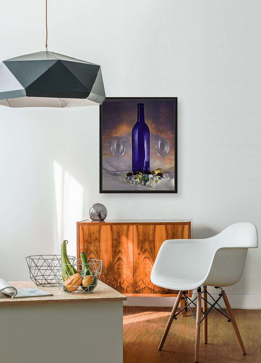 Sunset and Wine  Art