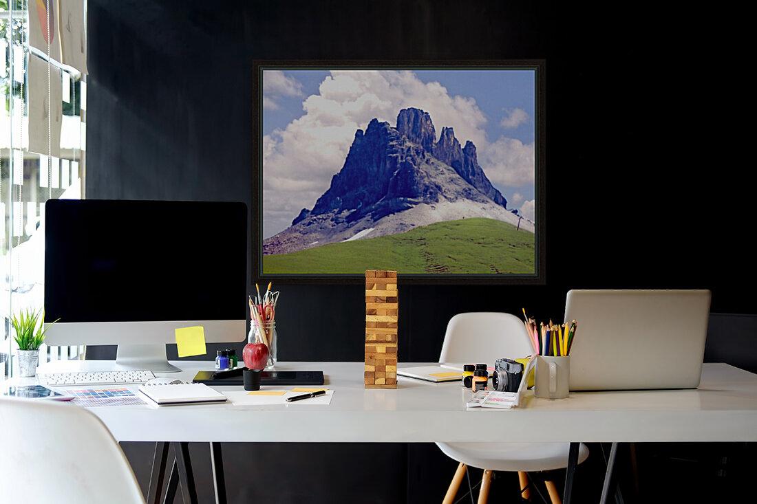 Mountain Peak in the Swiss Alps  Art