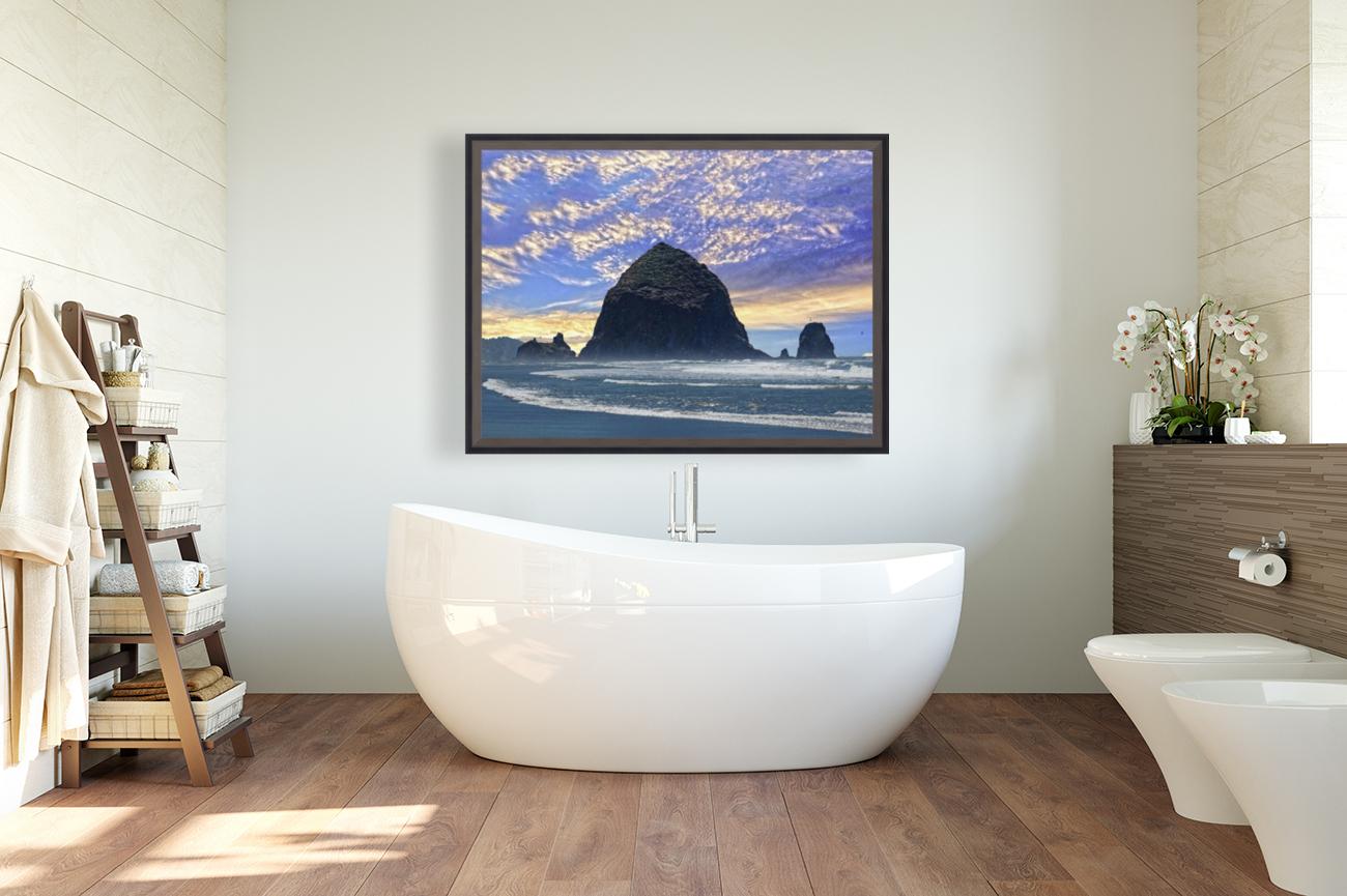 Haystack Rock at Cannon Beach  Art