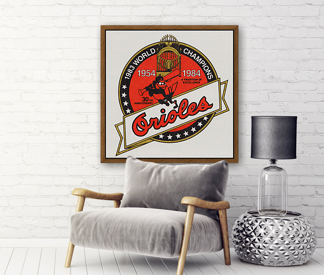 1983 Baltimore Orioles World Champions Art  Art