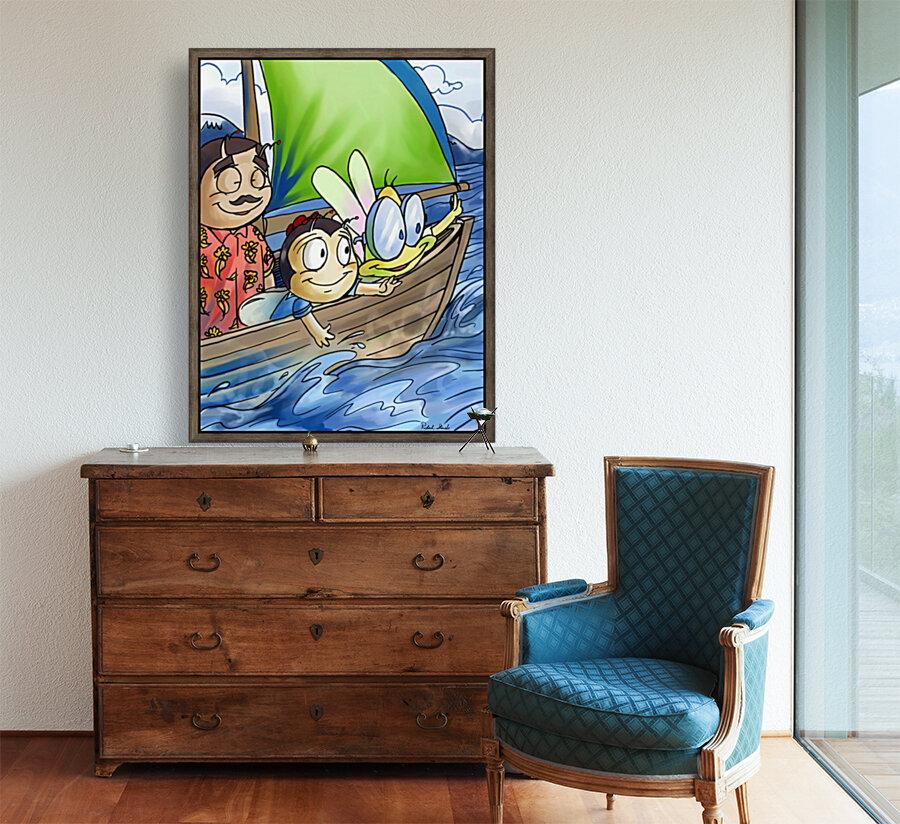 Sail Away with Us  Art