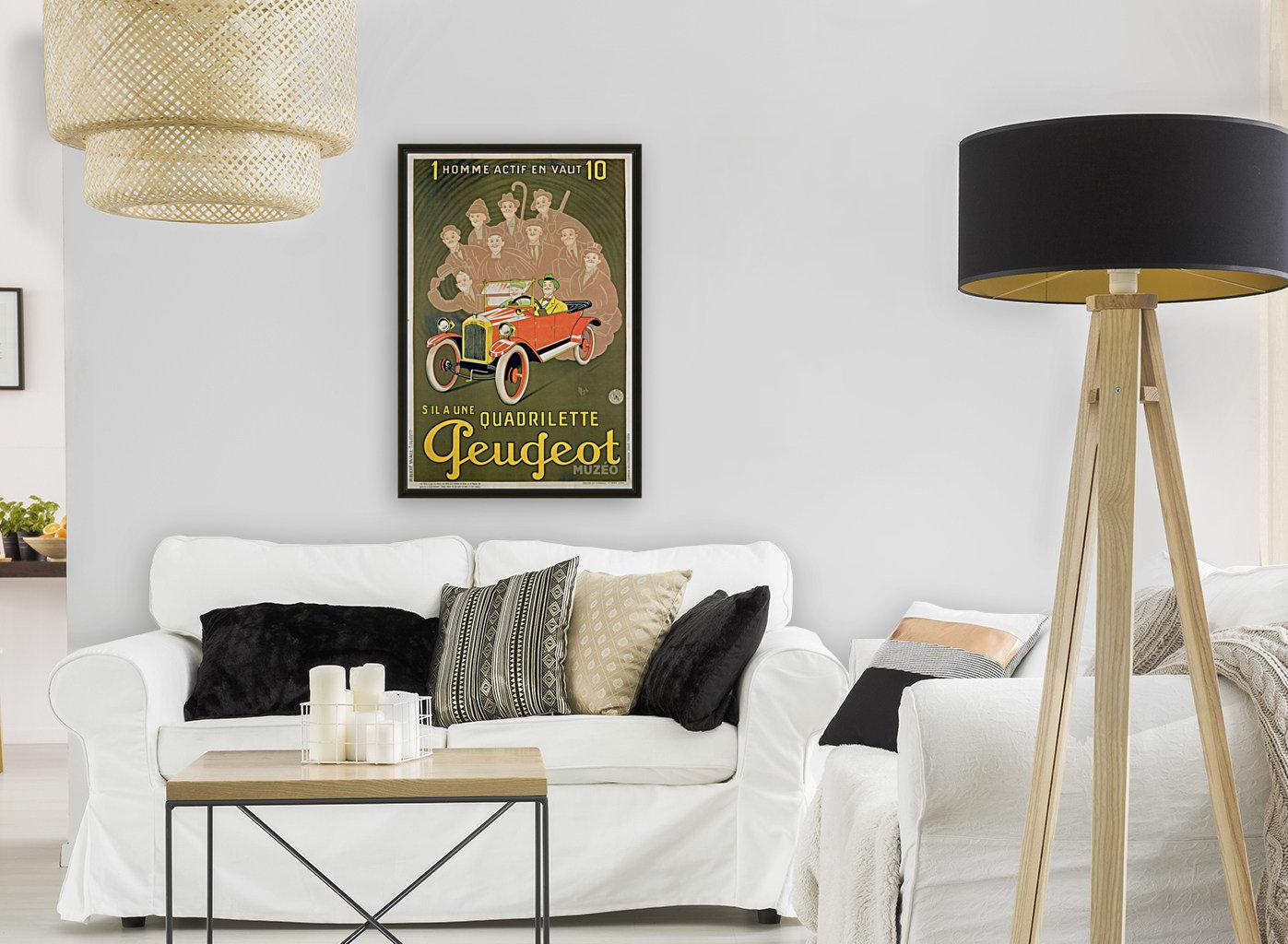 Quadrilette Peugeot  Art