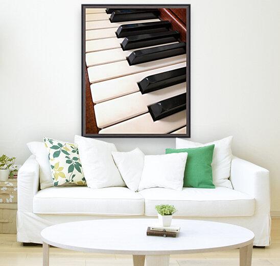 Piano Keys One Octave Plus  Art