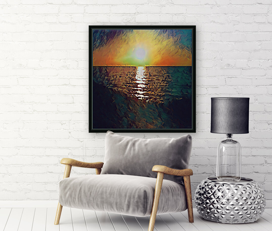 sunset art  Art