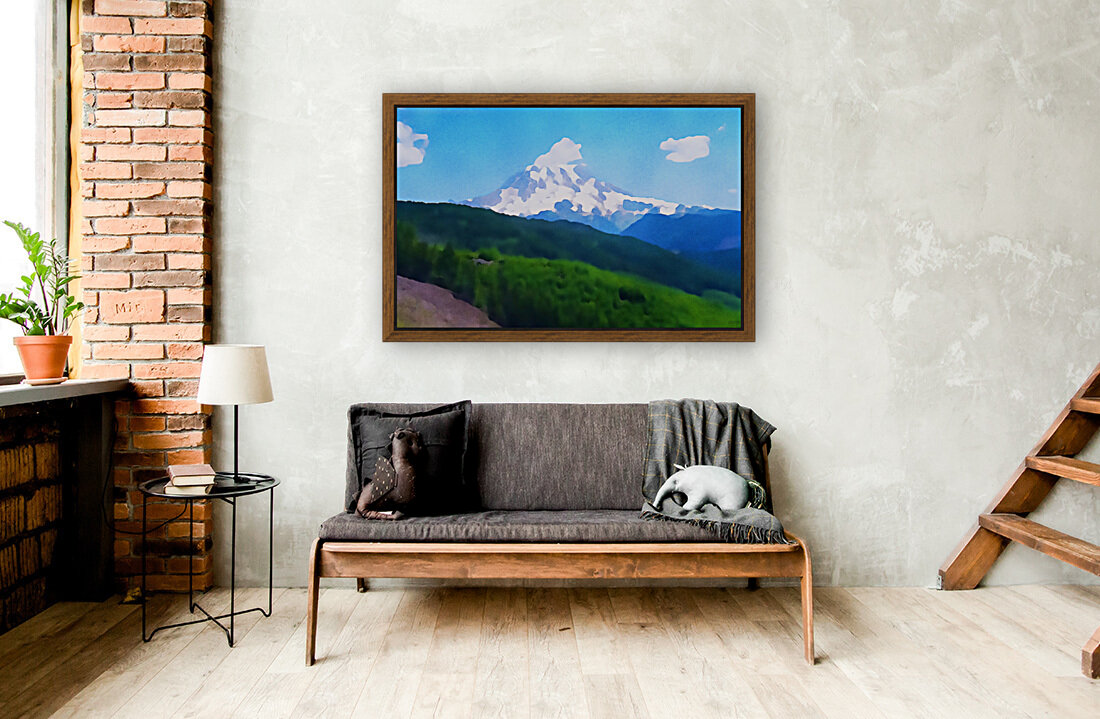 Mt. Ranier  Art