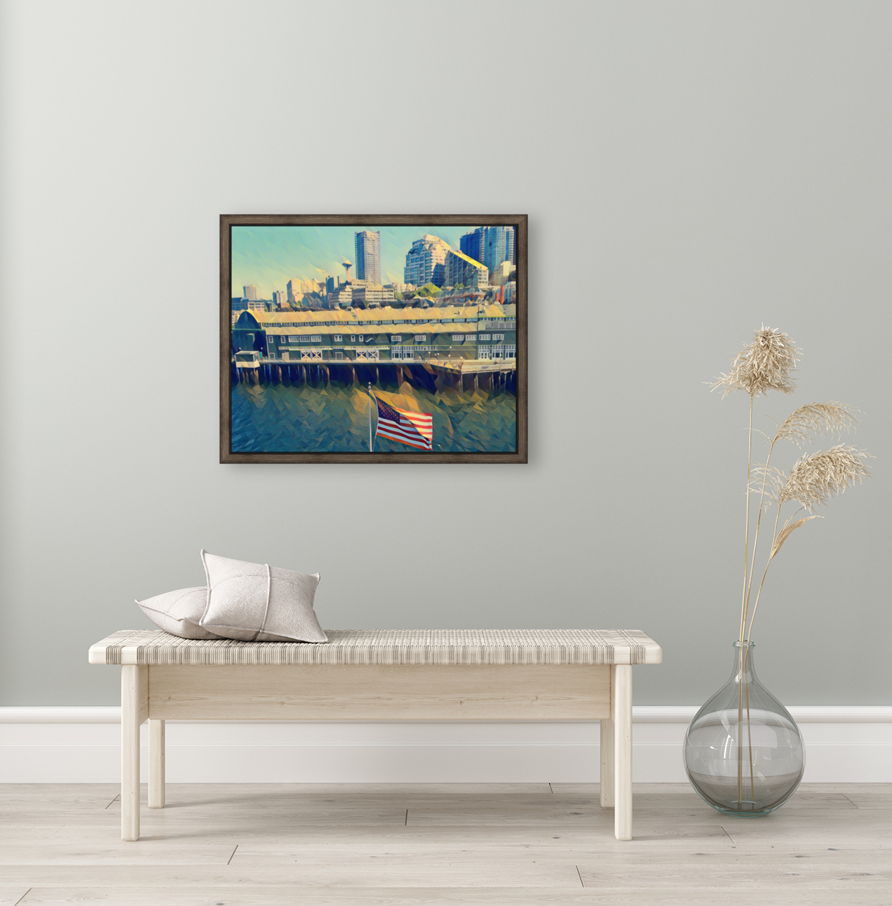 seattle skyline  Art