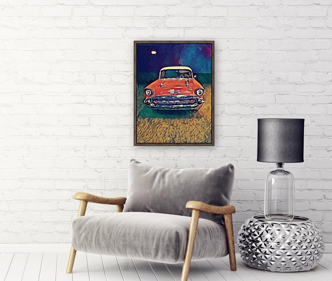 57 chevy car art  Art