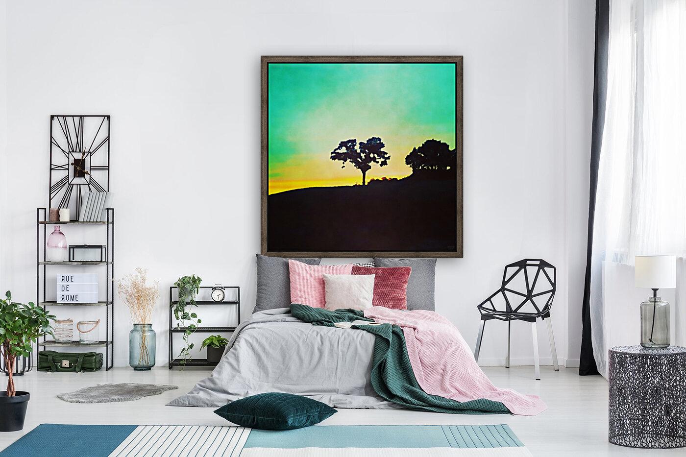 hill tree  Art