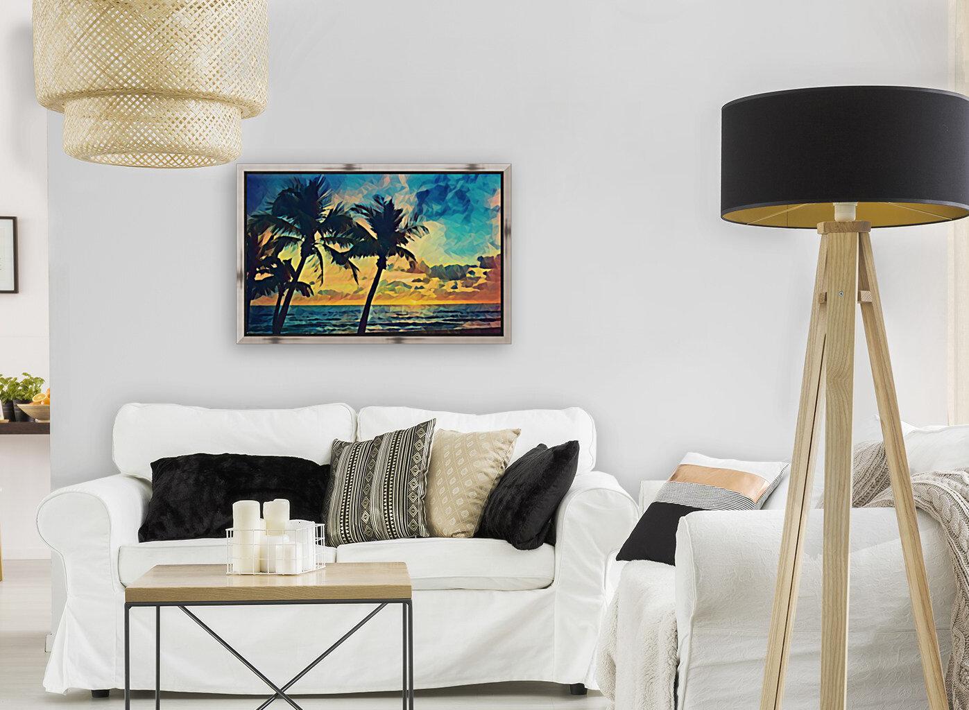 florida palm trees art  Art