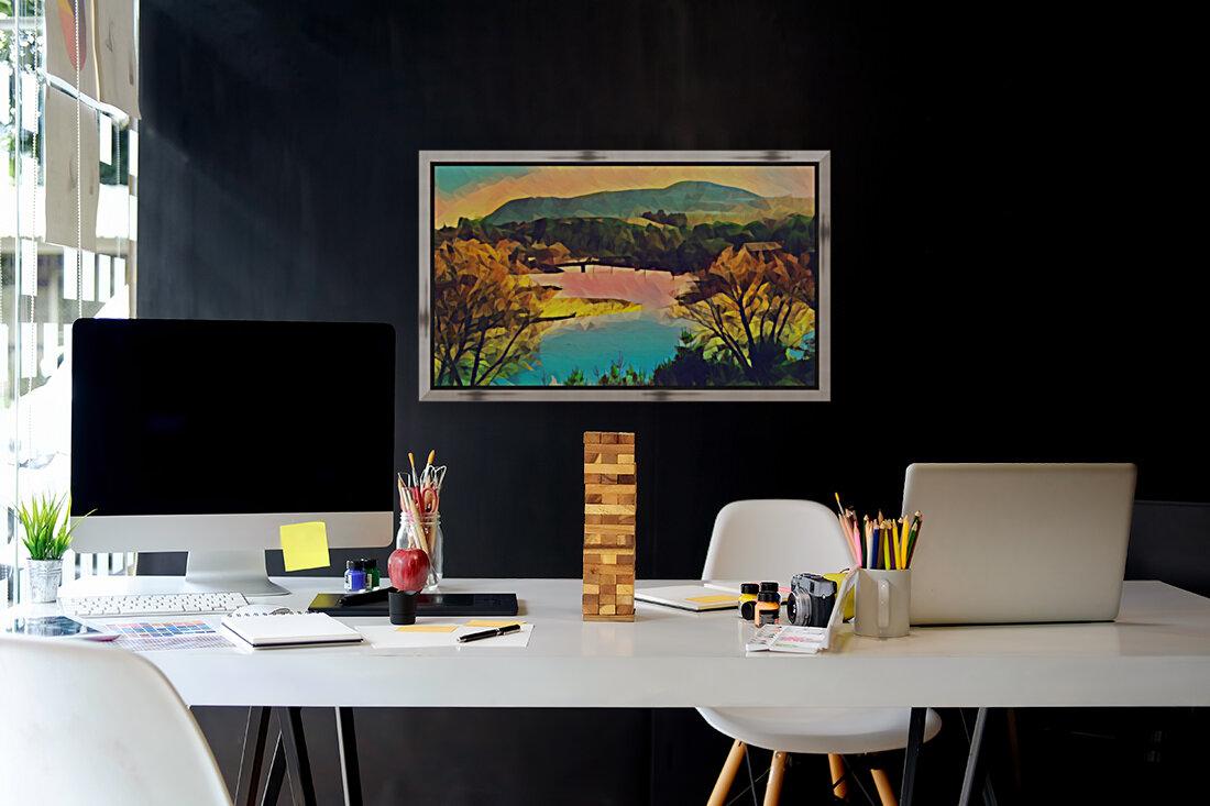 housatonic river monument mountain stockbridge mass  Art