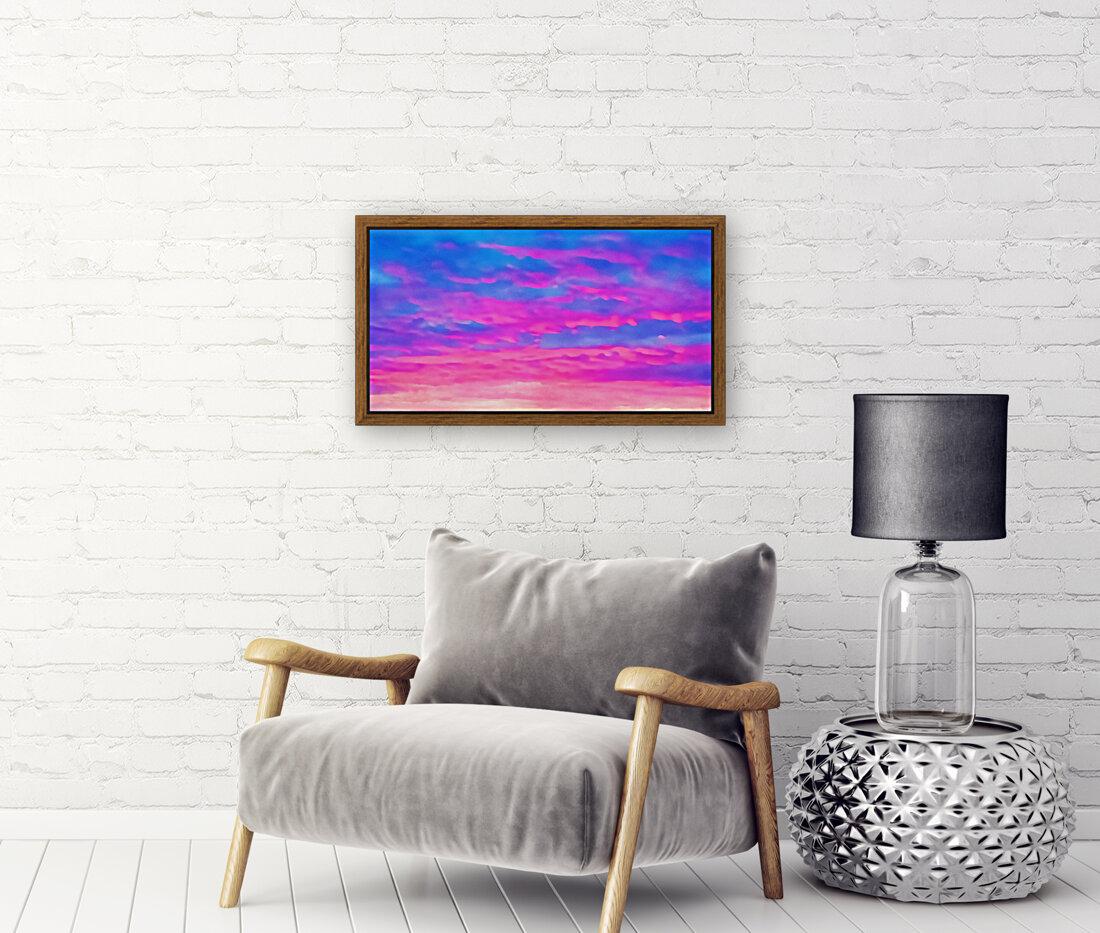 pink waves  Art