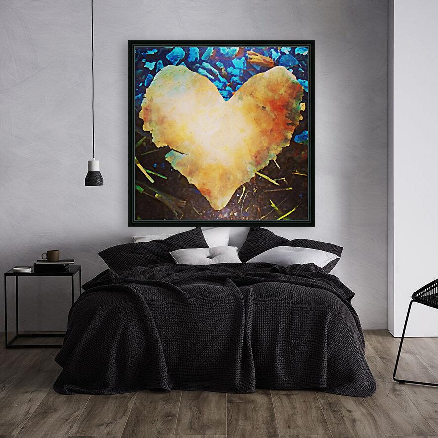 heart leaf  Art