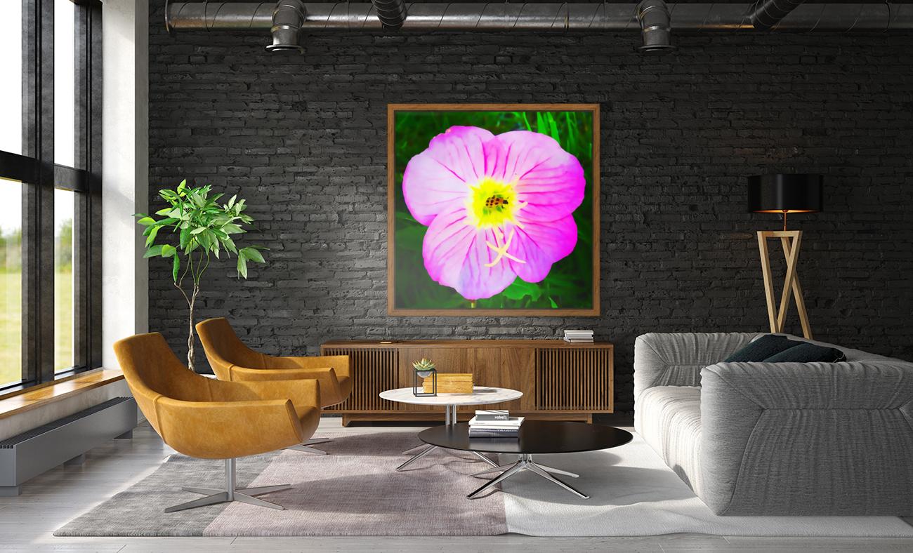 lady bug flower  Art