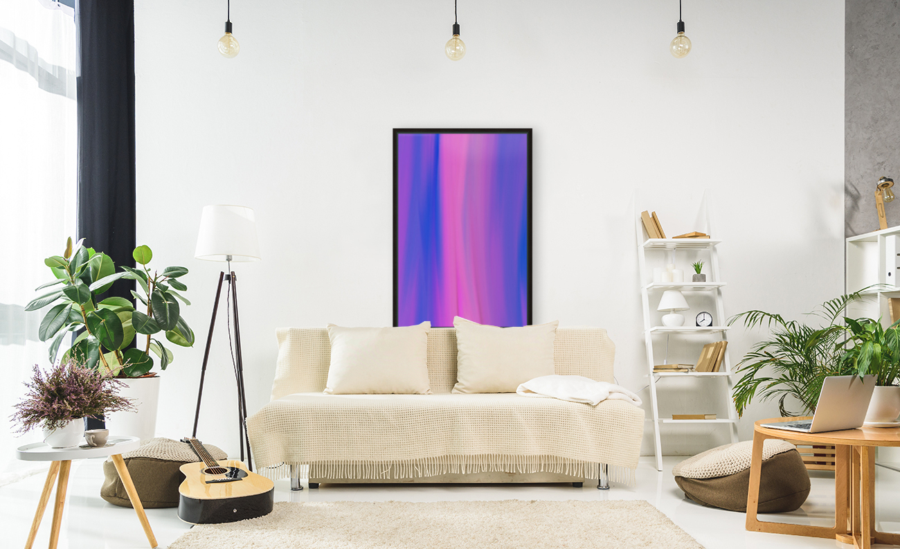 Purple Patterns  Art