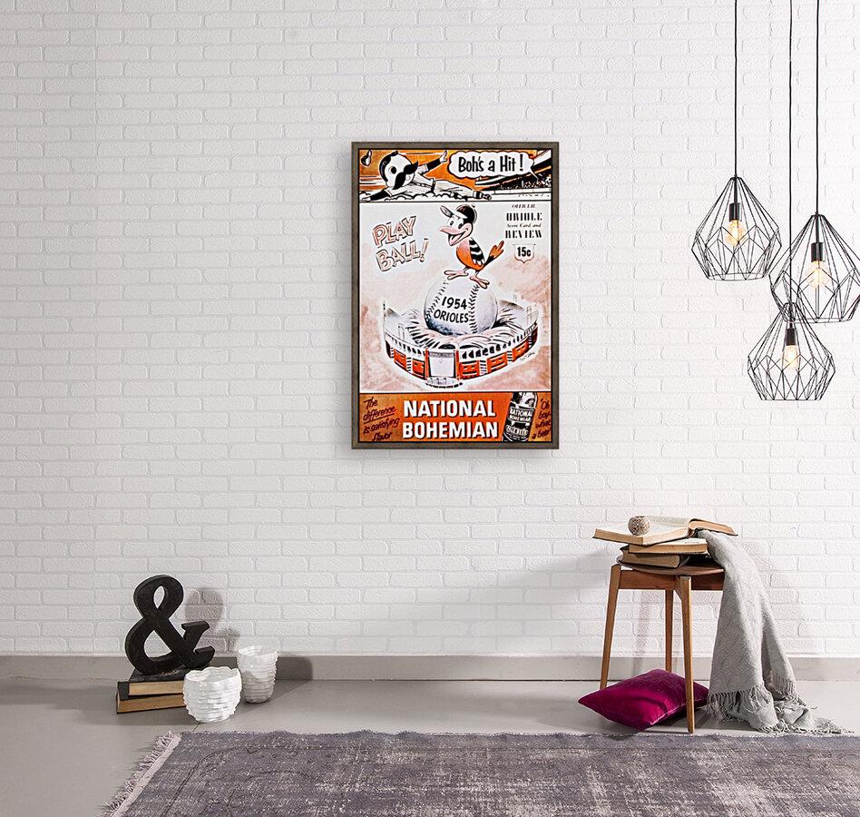 1954 Orioles Score Card Art  Art