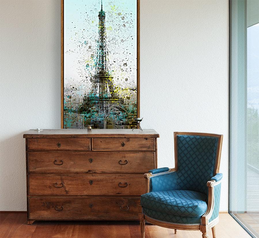 City-Art PARIS Eiffel Tower II  Art