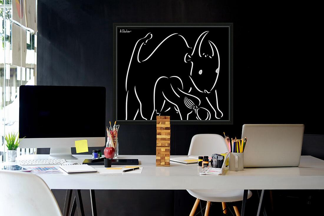 Pasiphae and the Bull  Art